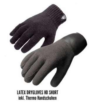 Waterproof Latex Dry Glove HD short für Ultima Handschuhsystem